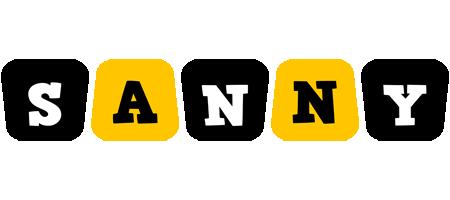 Sanny boots logo