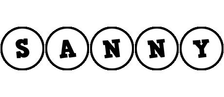 Sanny handy logo