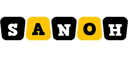Sanoh boots logo