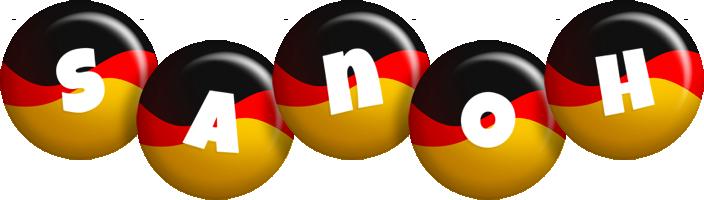 Sanoh german logo