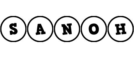 Sanoh handy logo