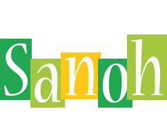Sanoh lemonade logo
