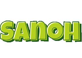 Sanoh summer logo