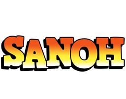 Sanoh sunset logo