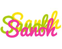 Sanoh sweets logo