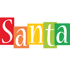 Santa colors logo