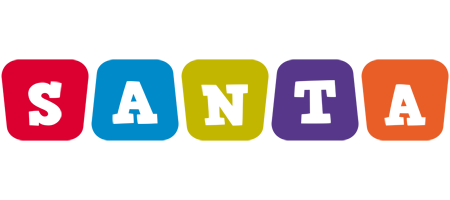 Santa daycare logo