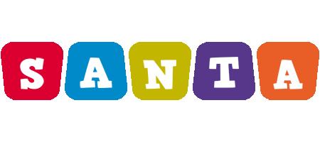 Santa kiddo logo
