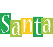 Santa lemonade logo