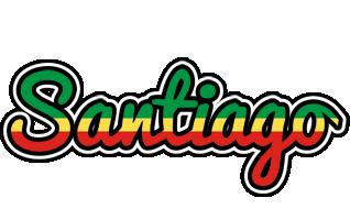 Santiago african logo