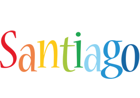 Santiago birthday logo