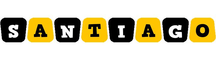 Santiago boots logo