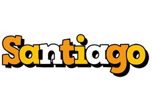 Santiago cartoon logo