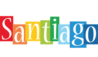 Santiago colors logo