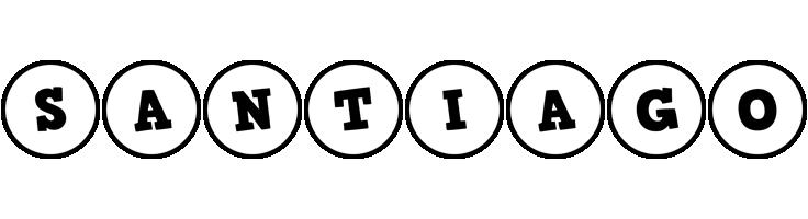 Santiago handy logo