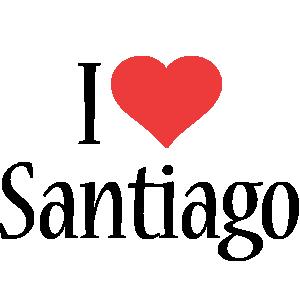 Santiago i-love logo