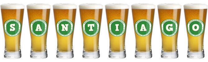 Santiago lager logo