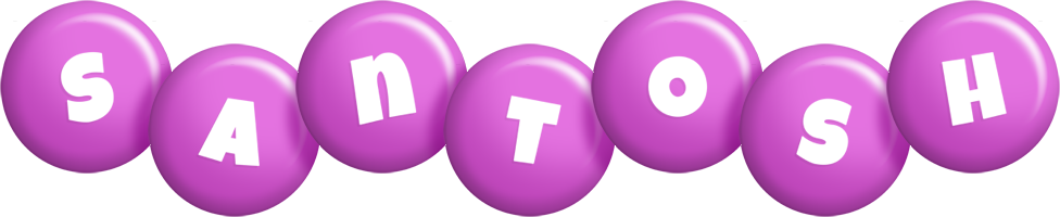 Santosh candy-purple logo