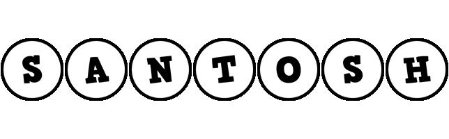 Santosh handy logo