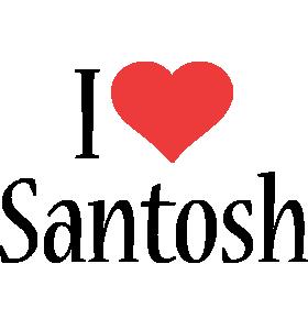 Santosh Logo | Name Logo Generator - I Love, Love Heart, Boots