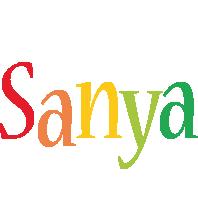 Sanya birthday logo