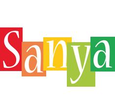 Sanya colors logo