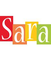 Sara colors logo