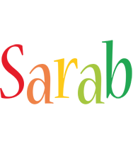 Sarab birthday logo