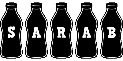 Sarab bottle logo