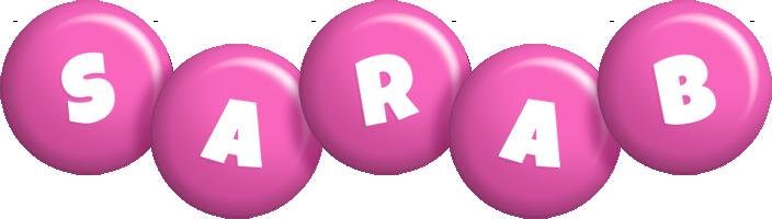 Sarab candy-pink logo