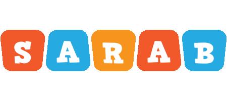 Sarab comics logo