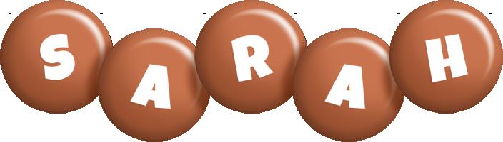 Sarah candy-brown logo