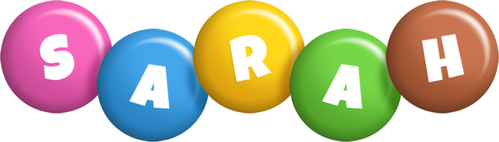 Sarah candy logo