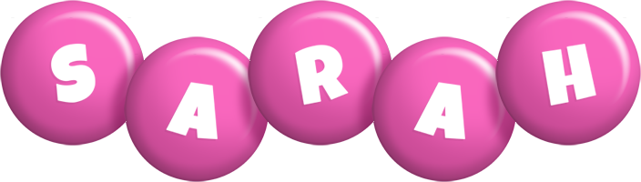 Sarah candy-pink logo