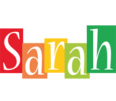 Sarah colors logo