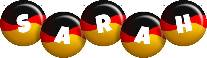 Sarah german logo