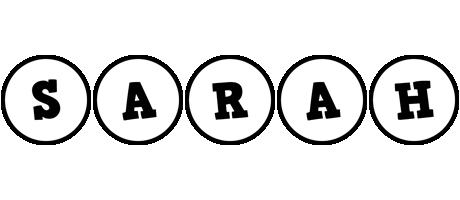 Sarah handy logo