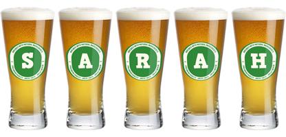 Sarah lager logo