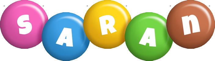 Saran candy logo
