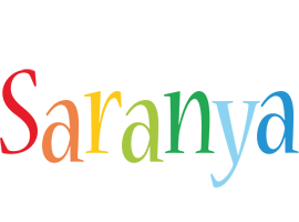 Saranya birthday logo