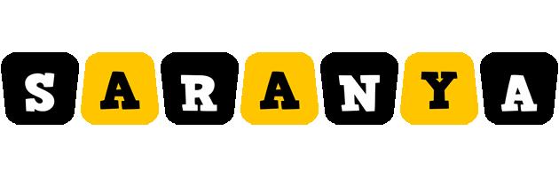 Saranya boots logo