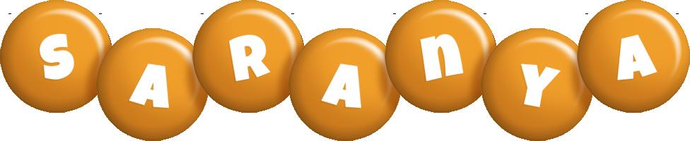 Saranya candy-orange logo