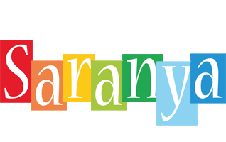 Saranya colors logo