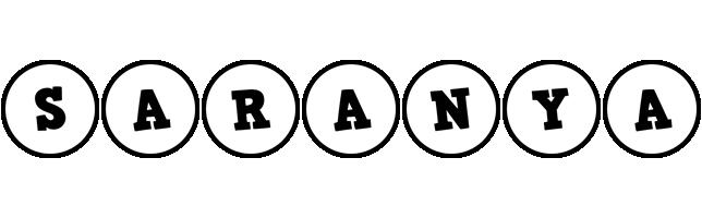 Saranya handy logo