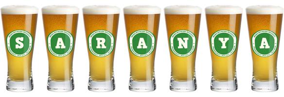 Saranya lager logo