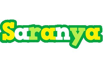 Saranya soccer logo