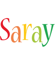 Saray birthday logo