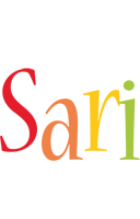 Sari birthday logo