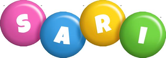 Sari candy logo
