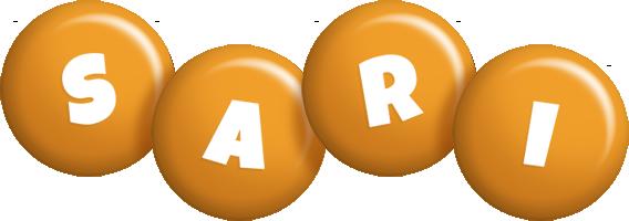 Sari candy-orange logo